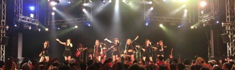 CANDY GO!GO!、ツアーファイナル公演地となった新宿ReNYで、バンドを従えた熱狂のライブを展開!!大人の事情に振り回されながらも、明けない夜はないとファンたちに歌を通して宣言?!