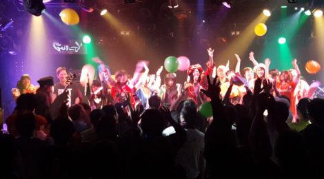 Risky Melodyが主催したイベント「Happy Carnival」、春の東名阪ツアーを実施。千秋楽となった東京公演は8時間に及ぶ熱狂が繰り広げられた。