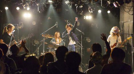 LINDBERG川添智久がプロデュースのガールズバンドRagnaRock、LINDBERGと同じ渋谷TAKE OFF 7を舞台に初フライト!!