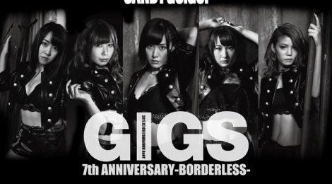 CANDY GO!GO!、7周年記念ワンマン公演をバンドを従え実施。アイドロックの神髄を見せるライブを披露!?