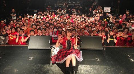 本編19曲、アンコール13曲、君と僕でつなぎ合った上月せれな熱狂の3時間ライブ!!