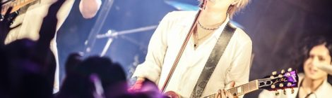 K(ex.BORN)ソロ活動2周年記念のワンマン公演灼熱のステージを展開!!12月に主催イベント『-The Kingdom Fes,-』vol.4の開催発表。来年2月にはTSUTAYA O-WESTでも新たな仕掛け!!