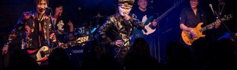 ジェイル大橋、デーモン閣下、エース清水、ゼノン石川がステージで一夜限りの共演。聖飢魔IIナンバーも披露。ジェイル大橋こと大橋隆志、初冬に行ったツアーのライブアルバムを11月に発売。新バンドTOSJMによるツアーも開始!!